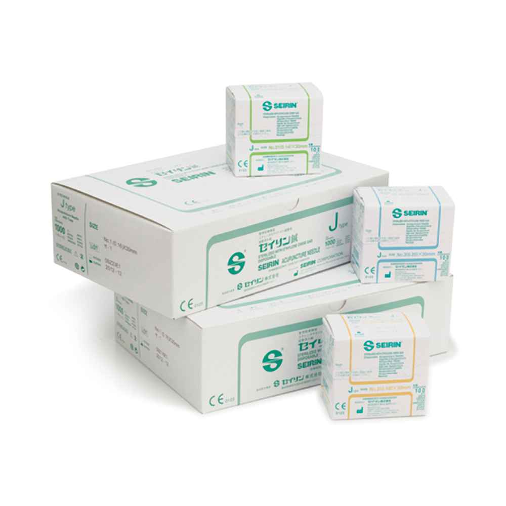 SEIRIN J-Type Acupuncture Needles