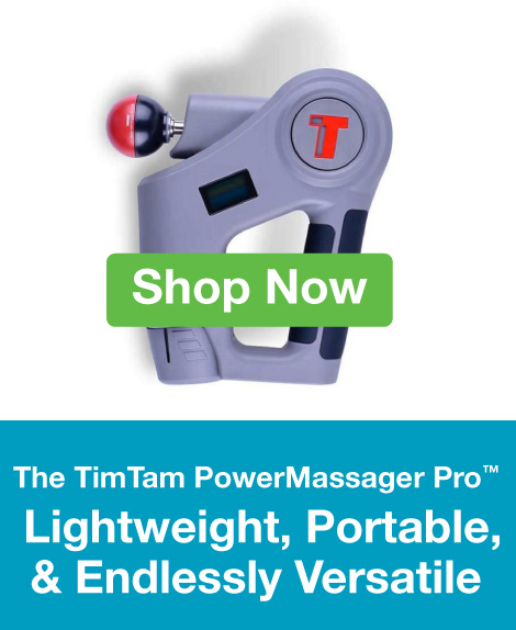Quarter Page Ad – TimTam PowerMassager Pro – Click to Shop