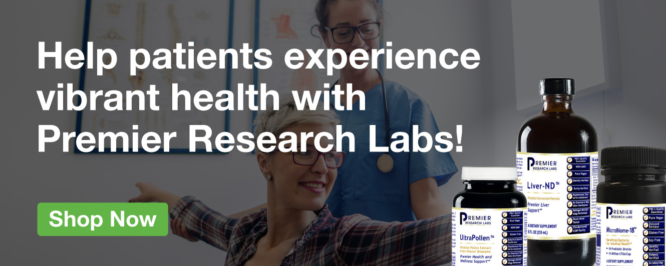 Half Page Ad – Offer Premier Research Labs Supplements for Vibrant Health – Click to View Page