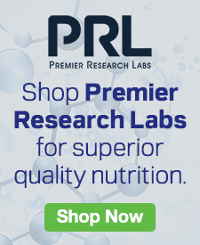 Quarter Page Ad – Shop Premier Research Labs for Superior Quality Nutrition – Click to View Page