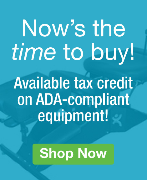 Quarter Page Ad – ADA Tax Credit on Qualifying chiropractic equipment – Click to View Page