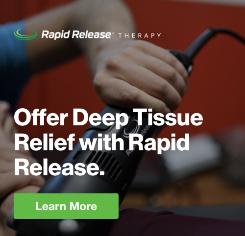 Half Page Ad – Offer Deep Tissue Relief with Rapid Release – Click to View Page