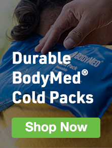 BodyMed Durable Cold Packs- Available in Blue Vinyl and Black Urethane - Click to Shop
