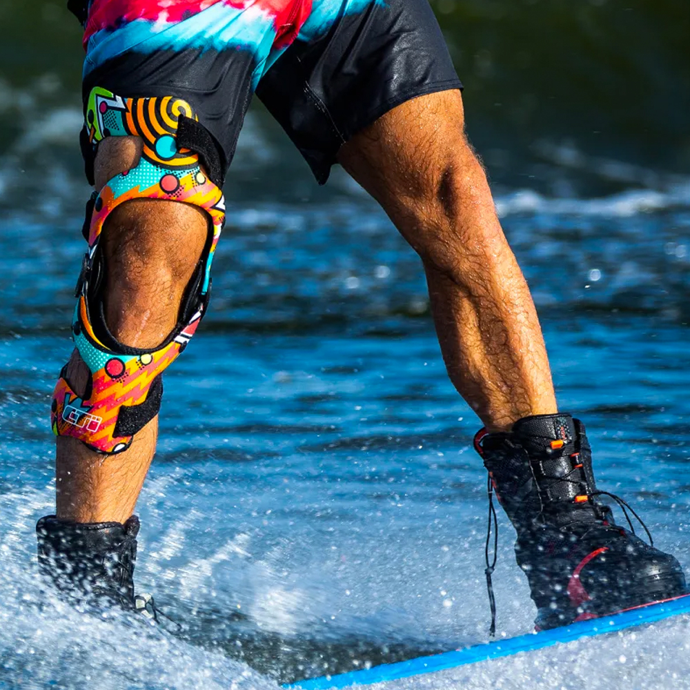 Image of person in water wearing CTi brace