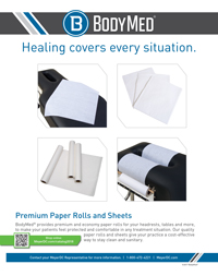 BodyMed Paper Rolls & Sheets
