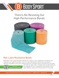 Body Sport Non-Latex Resistance Bands