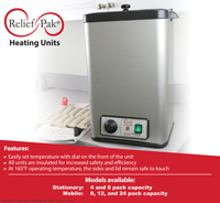 Relief Pak Heating Units