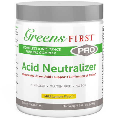 Can be taken alone or combined with Greens First PRO for better, faster detox results.