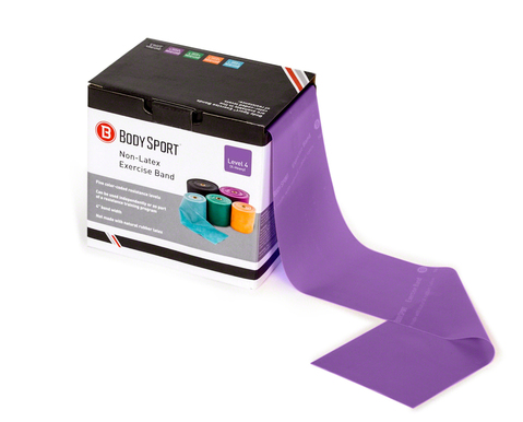 Body Sport® Latex-Free Bulk-Packaged Exercise Bands