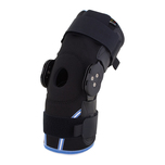 Compression Airmesh Knee Brace with Range of Motion Hinges & More at MeyerDC™
