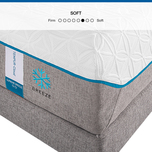 The TEMPUR-Cloud Supreme Breeze is a soft, cooling mattress with adaptive support for comfort and better sleep.