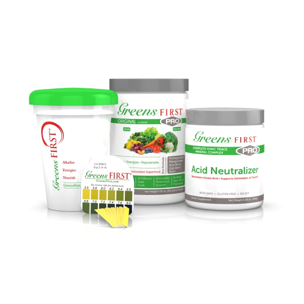 Greens First® DeAcidify Kit™