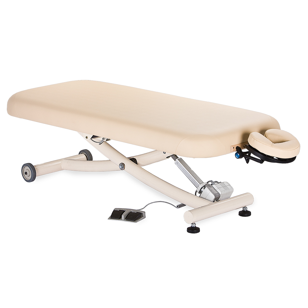 Earthlite Ellora Electric Lift Massage Table with Easy-To-Use Foot Pedal