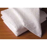 These soft and absorbent terry cloth hand towels have the durability to withstand institutional laundering.