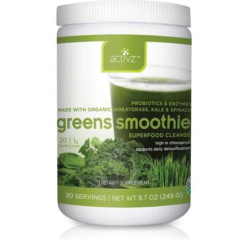 Activz Green Smoothie & More at MeyerDC
