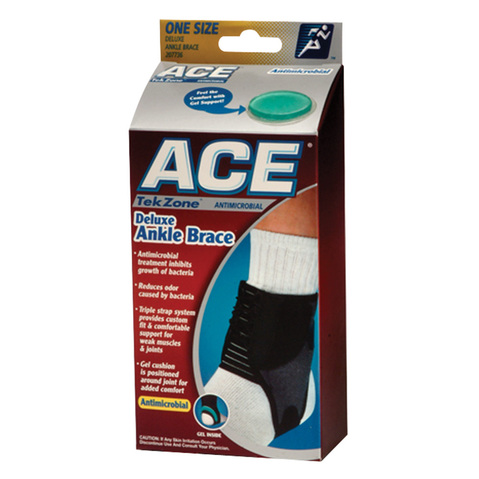 Ace Tekzone Antimicrobial Ankle Brace & More at MeyerDC™