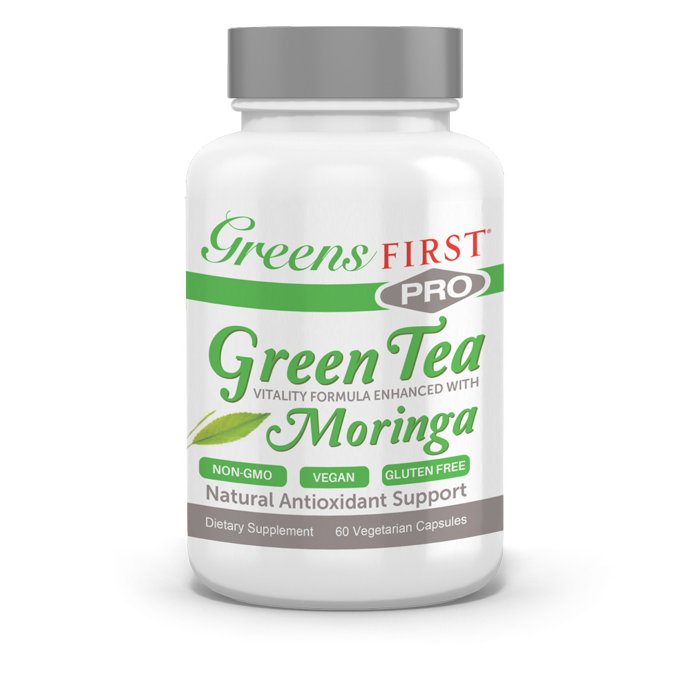 Greens First® PRO - Green Tea Vitality Formula, Enhanced with Moringa - Click to Shop