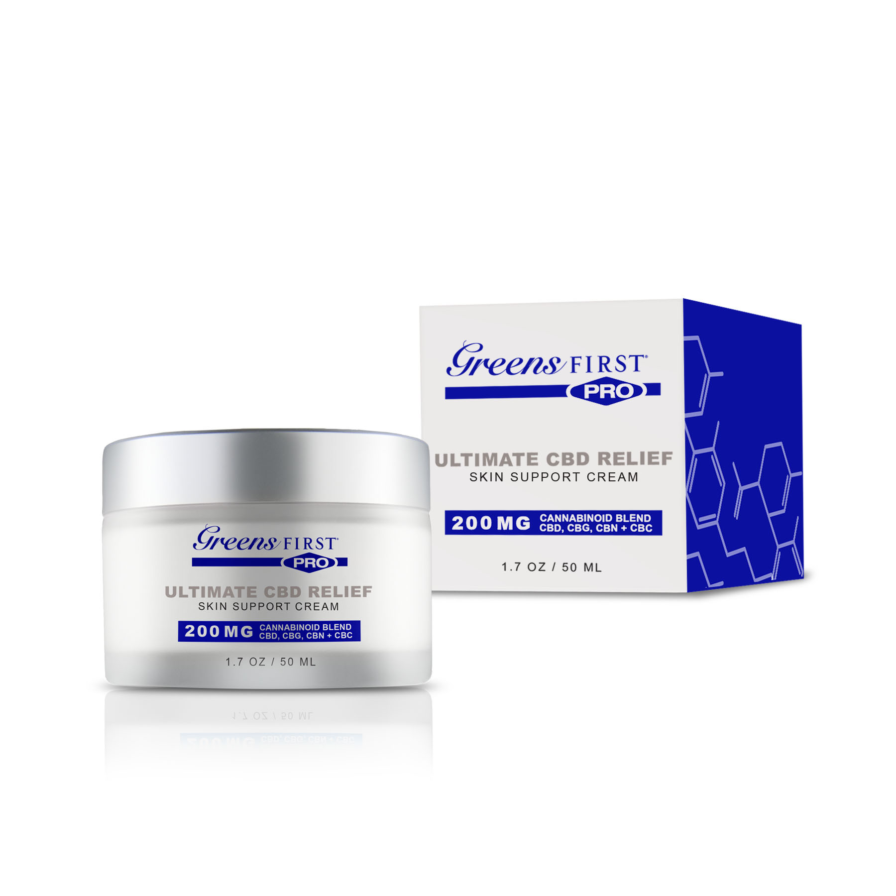 Greens First® Ultimate CBD Relief Skin Support Cream