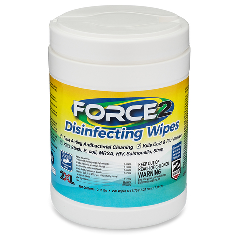 Product Image - 2XL Force2 Disinfectant Wipes - Click to Shop