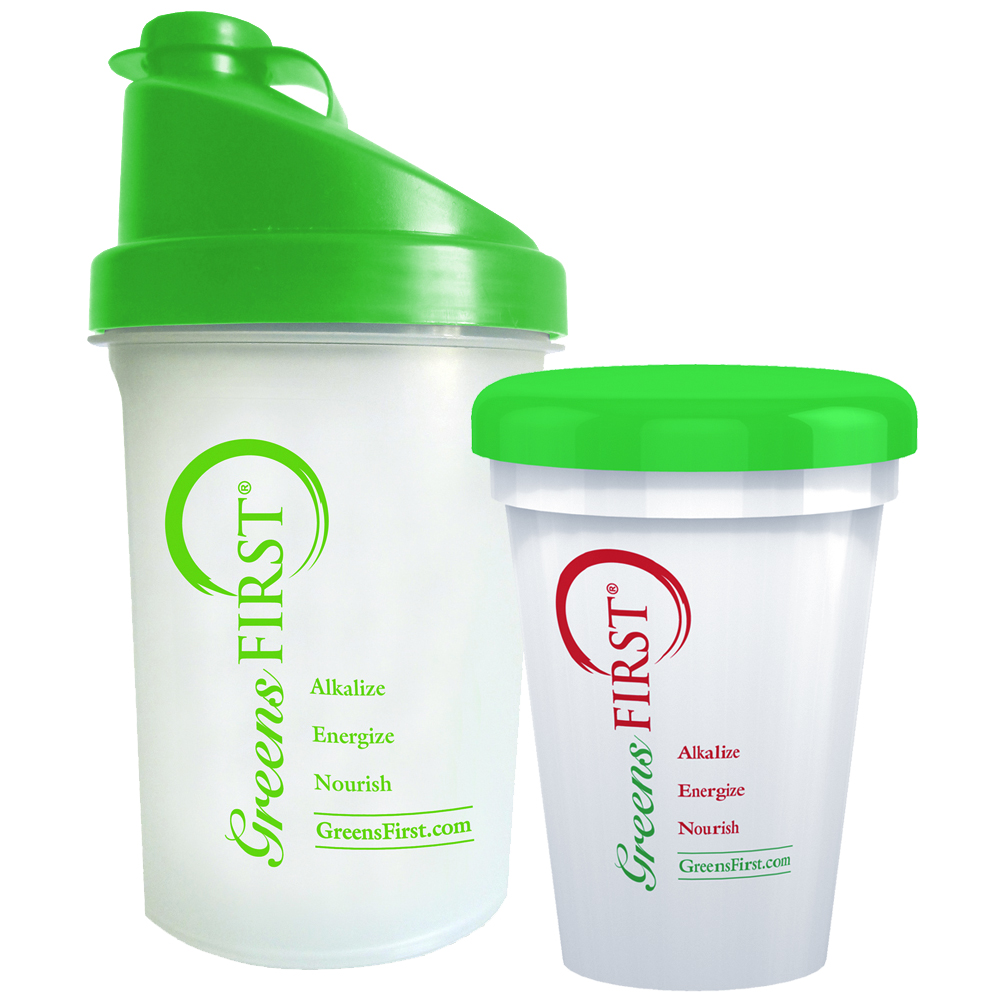 Greens First Shaker Cup