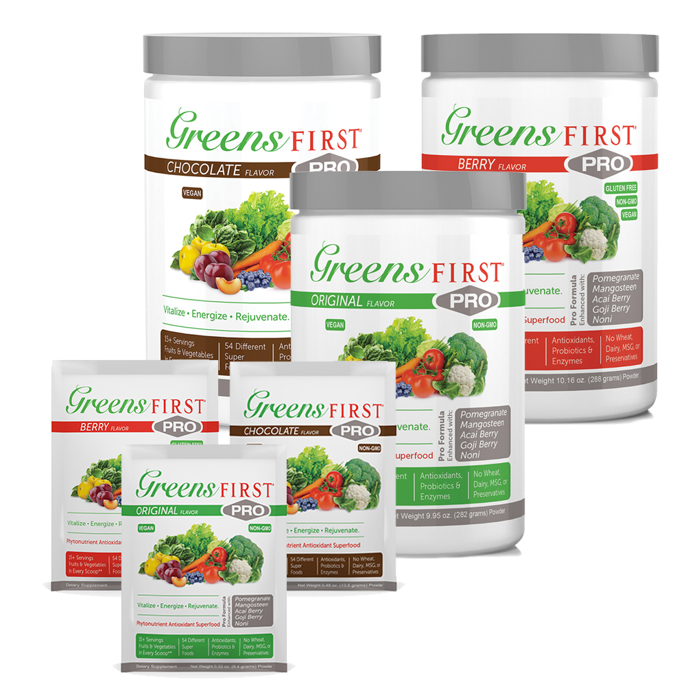 Greens First® PRO Powdered Supplements