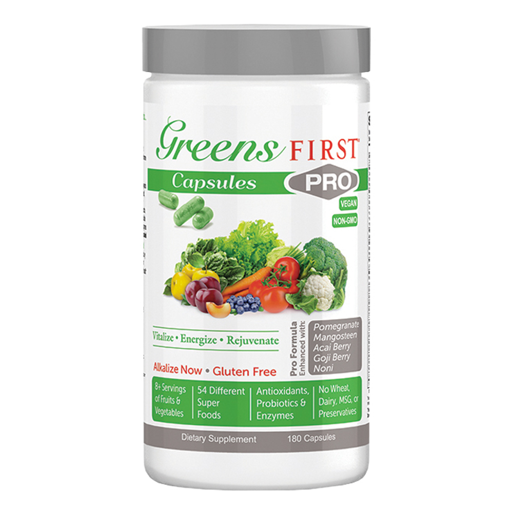 Greens First® PRO - Capsules - Click to Shop