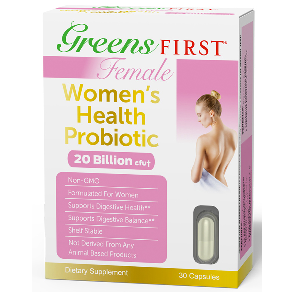 Product Image - Greens First Female - Women's Health Probiotic - Click to Shop
