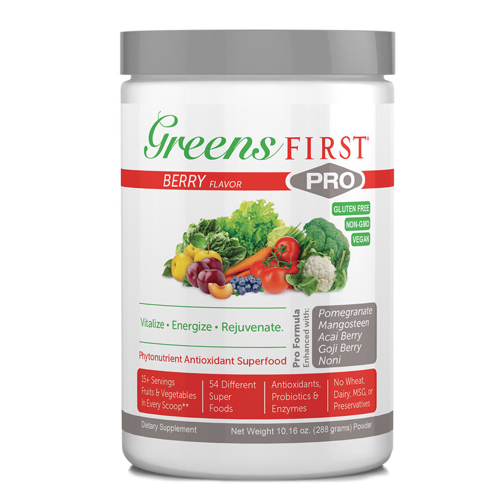 Greens First® PRO - Powdered Supplements - Click to Shop