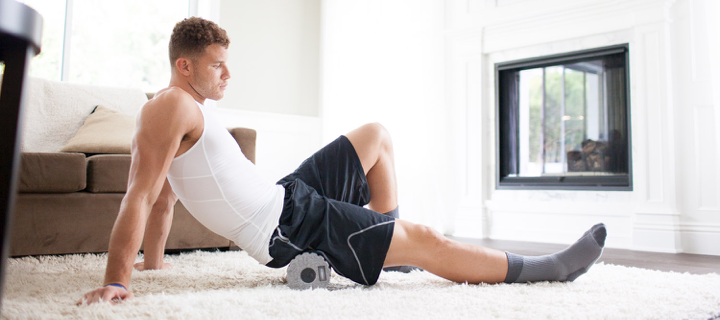 NBA superstar Blake Griffin using HYPERICE products