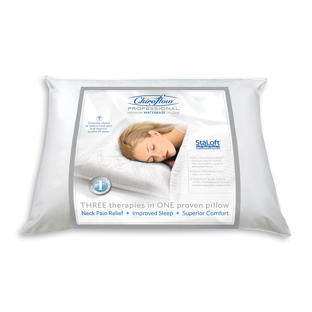 Pillows - Chiroflow Professional Premium Waterbase Pillow - Click to Shop