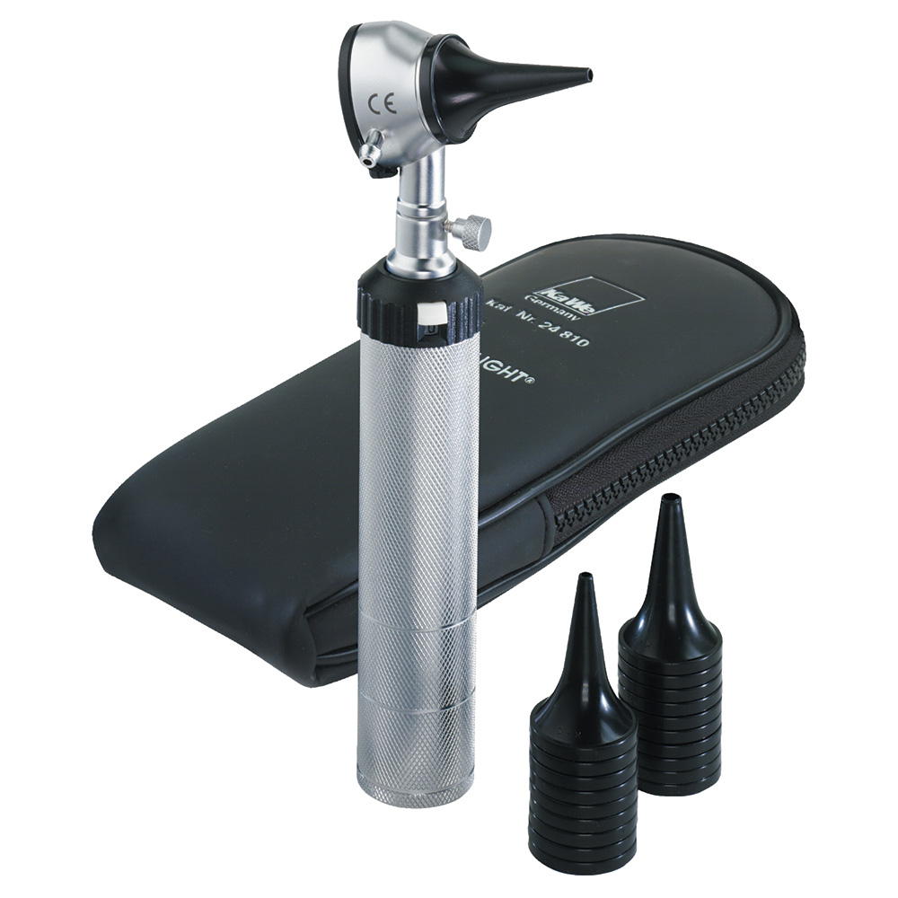 Briggs Healthcare K&W Standard Otoscope with 10 Disposable Specula & Bag