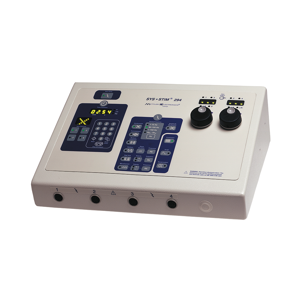 Mettler Electronics Sys Stim 294 4-Channel Muscle Stimulator