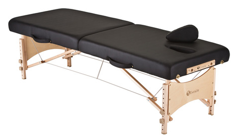 The Earthlite MediSport™ massage table provides unyielding support and stability, plus client access and comfort.