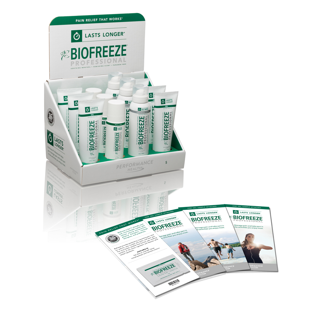 BIOFREEZE Professional Pain Reliever Starter Solution Kit