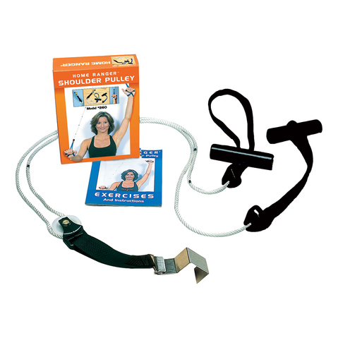 Home Ranger 92 Shoulder Pulley with Handles & Door Anchor & More at MeyerDC™