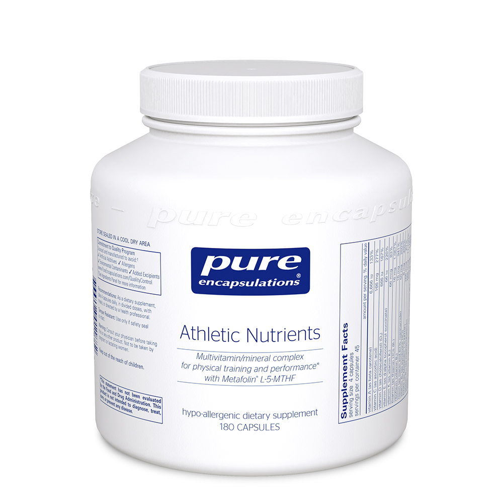 Product Image - Pure Encapsulations Athlete Nutrients - Click to Shop