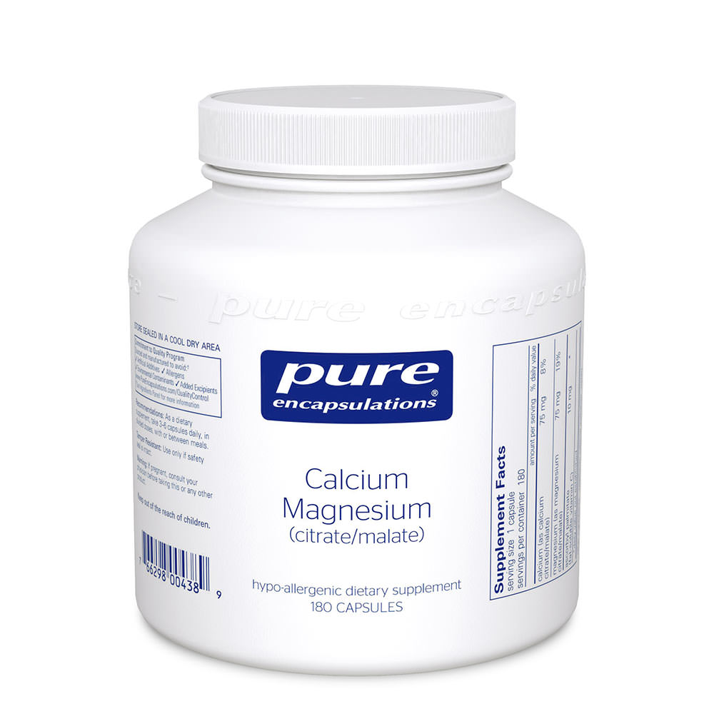 Product Image - Pure Encapsulations Calcium with Magnesium 180's - Click to Shop