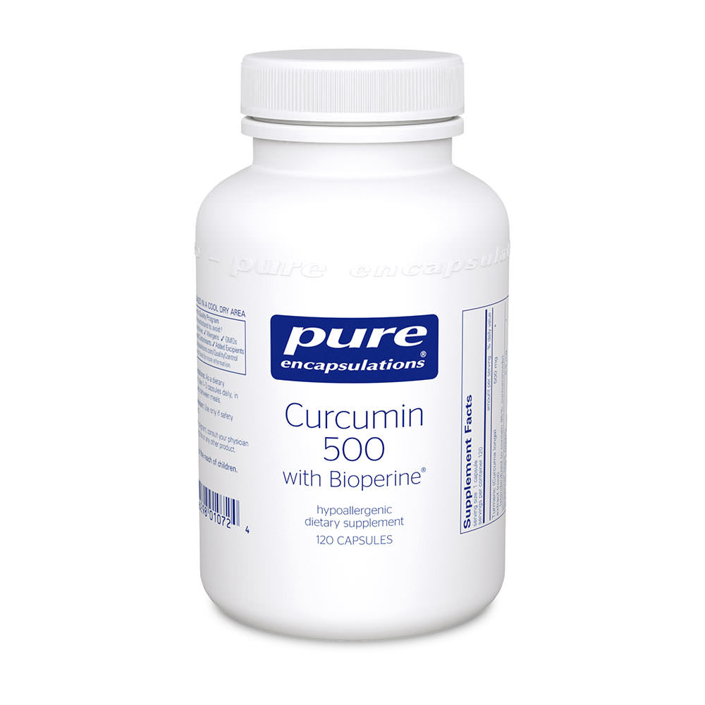 Product Image - Pure Encapsulations Curcumin 500 with Bioperine - Click to Shop