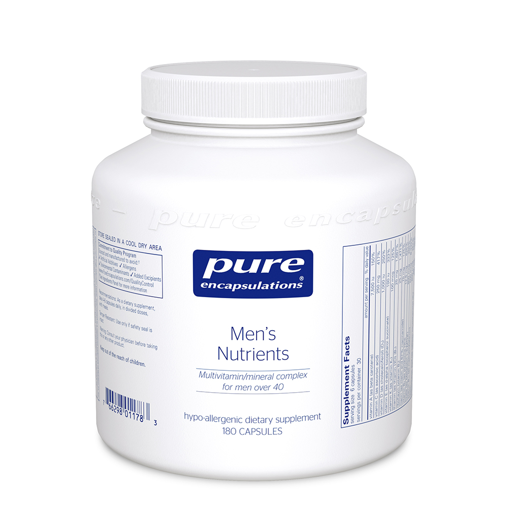 Product Image - Pure Encapsulations Men's Nutrients - Click to Shop