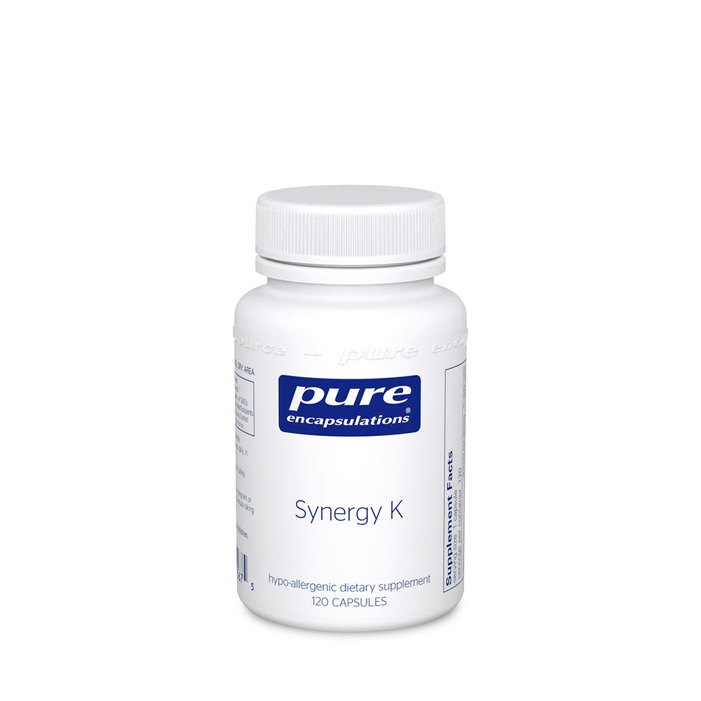 Pure Encapsulations Synergy K Capsules