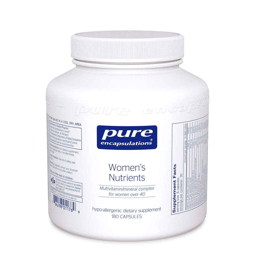 Product Image - Pure Encapsulations Women's Nutrients - Click to Shop