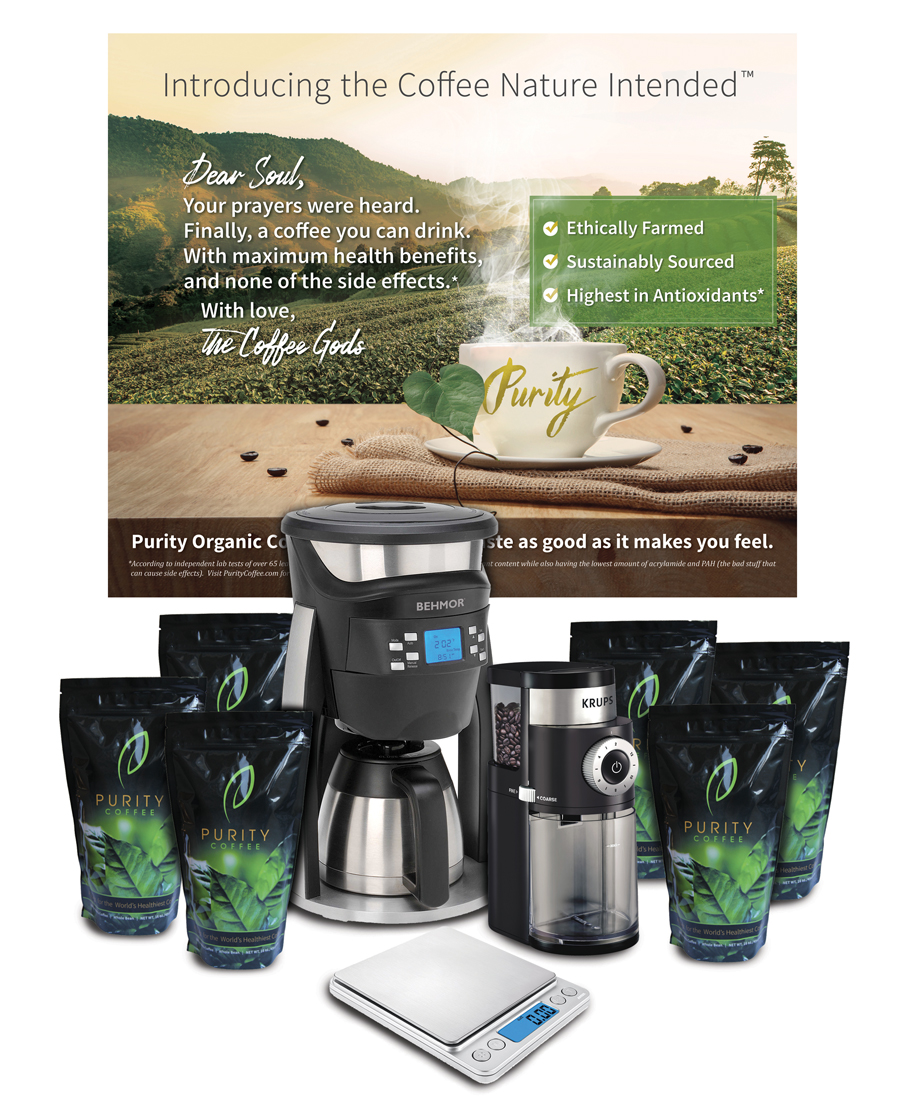 Purity Coffee Business Builder Package
