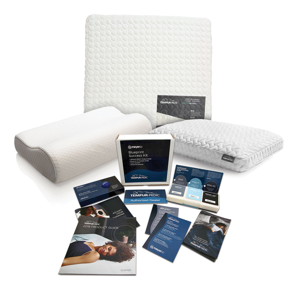 Tempur-Pedic Sales Blueprint Kit