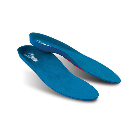 Vasyli Custom Blue medium-density orthotic for people of average weight and activity levels.