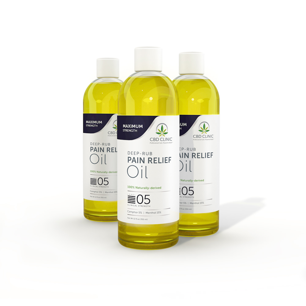 CBD Clinic Massage Oil - Level 5