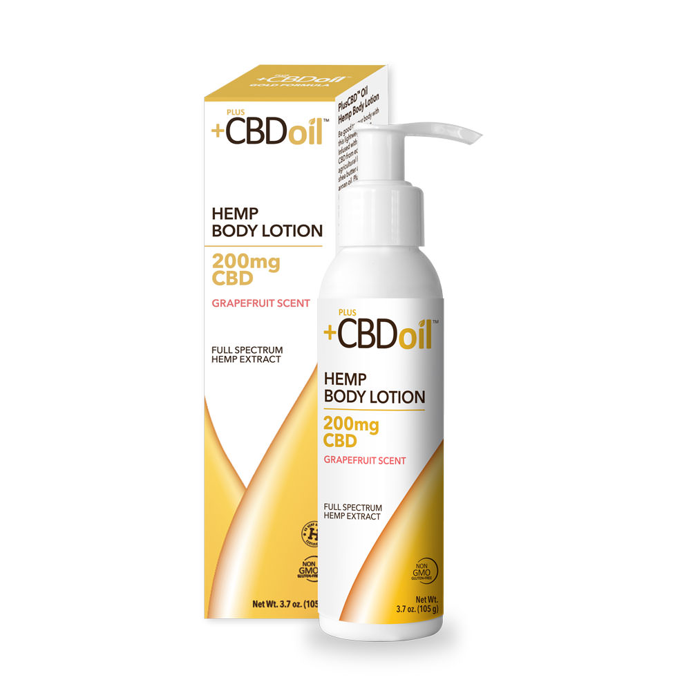 Plus CBD Oil PlusCBD™ Oil Body Lotion