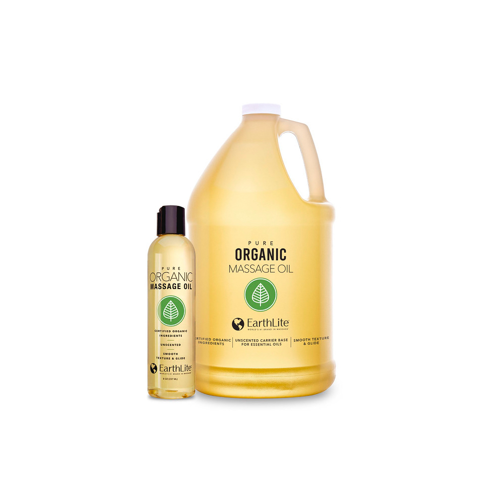 MeyerDC Featured Products - Earthlite Organic Massage Oil - Click to Shop