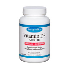 Product Image - EuroMedica Vitamin D3 Chewable - Click to Shop