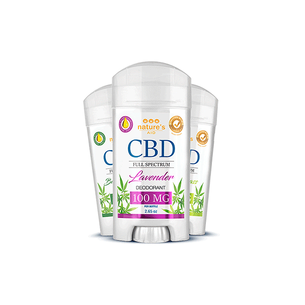 Nature's Aid CBD Deodorant 100mg