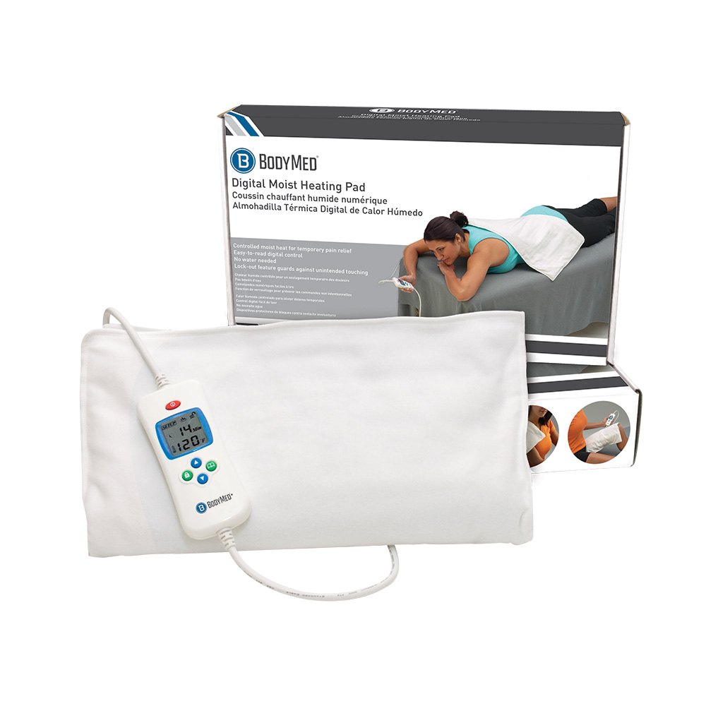 MeyerDC Featured Products - BodyMed Digital Moist Heating Pad - Click to Shop